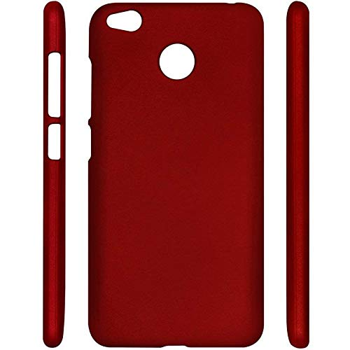 SMARTSURF CASES XIAOMI REDMI 4 / 4X Imported Matte Finish Hard Back CASE Cover (Material-Plastic)(Color-RED) 3