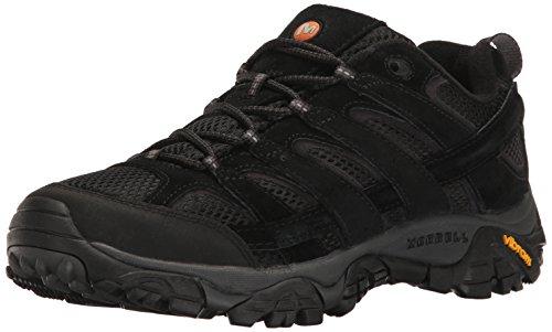 Merrell Men's Moab 2 Vent Hiking Shoe, Black Night, 12 M US