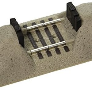 Lionel FasTrack Electric O Gauge, Earthen Bumper 41TZ9kuP3rL