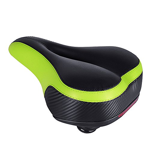 Most Comfortable Bicycle Seat,Tonbux Dual Shock Absorbing Ball Designed Bicycle Gel Seat with Mounting Wrench …