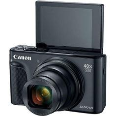 Canon-PowerShot-SX740-HS-Digital-Camera-Black-with-20MP-4K-HD-Video-40x-Optical-40x-Digital-Zoom-Wi-Fi-Bluetooth-and-30-Tilt-LCD-64GB-Card-Reader-Case-Tripod-Accessories-Bundle