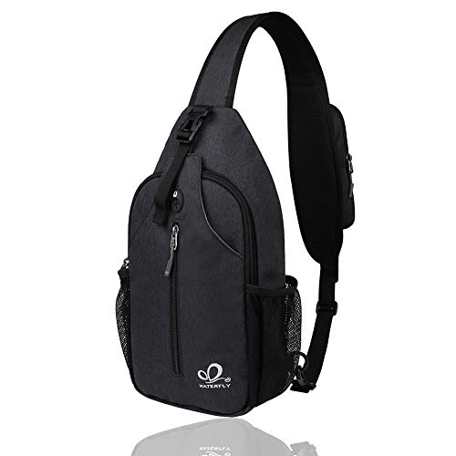 Waterfly Crossbody Sling Backpack Sling Bag Travel Hiking Chest Bags...