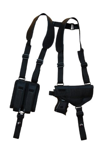 Barsony New Nylon Concealment Shoulder Holster w/Double Mag Beretta PX4 Storm Right