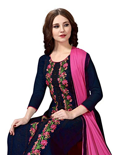 Nivah Fashion Women's Cotton Embroidery Dress Material TODAY OFFER ON AMAZON