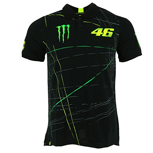 Valentino Rossi Vr46 Moto Gp Monster Energy Polo Shirt Official 2017