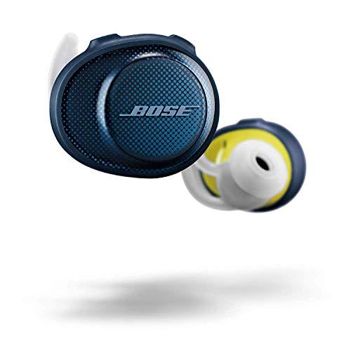 Bose, Audífonos Inalámbricos SoundSport Free, 774373-0020, Azul/Citron