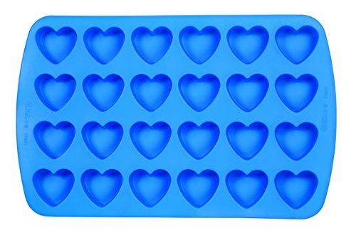 Wilton Easy Flex Heart 24-Cavity Silicone Mold