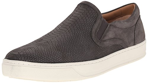 41TzcOJCKTL Snakeskin-textured slip-on sneaker with twin-gored tongue and padded collar Double padded footbed