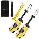 Miserwe Shoe Stretcher with Carrying Bag Adjustable Unisex Shoes Stretcher(L)