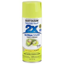 Rust-Oleum 249104 Painter's Touch Multi Purpose Spray Paint, 12-Ounce, Key Lime