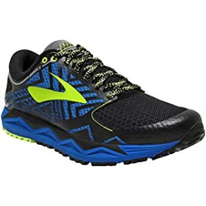 Brooks Men's Running Shoes, Multicolour Blue Black Lime 427