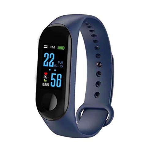 N ZGZRONG Blue Fitness Tracker, Health Tracker Color Screen Sport Smart Watch,Activity Tracker with Heart Rate Blood… 1