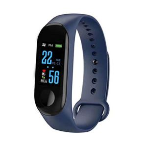 N ZGZRONG Blue Fitness Tracker, Health Tracker Color Screen Sport Smart Watch,Activity Tracker with Heart Rate Blood… 13