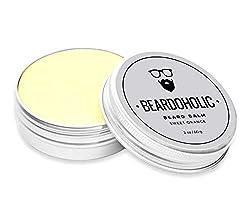 BEARDOHOLIC Beard Balm - Sweet Orange, 100% Organic with Extra Hold for Styling and Shaping Your Beard with Ease, Eliminates Itch and Dandruff  Image