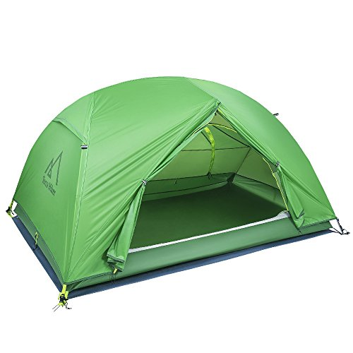 Terra Hiker 2 Person Tent, Ultralight Camping Tent, 4 Seasons Tent with Tent Fly, Tarp for Outdoor Activities