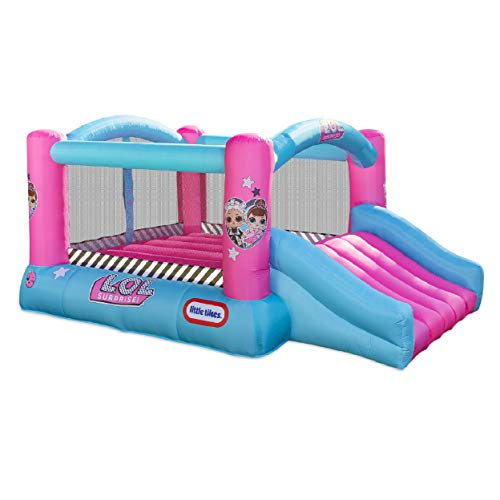 L.O.L. Surprise Jump 'n Slide Inflatable Bounce House - LOW PRICE!