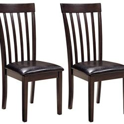 Signature Design by Ashley Hammis Dining Room Chair, Dark Brown