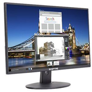 Sceptre 20″ 1600×900 75Hz Ultra Thin LED Monitor 2x HDMI VGA Built-in Speakers, Machine Black Wide Viewing Angle 170° (Horizontal) / 160° (Vertical)