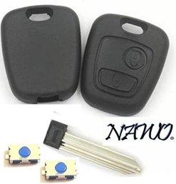 Coque-cl-plip-2-boutons-CITROEN-Berlingo-Xsara-Picasso-Saxo-sans-vis-2-boutons-switch