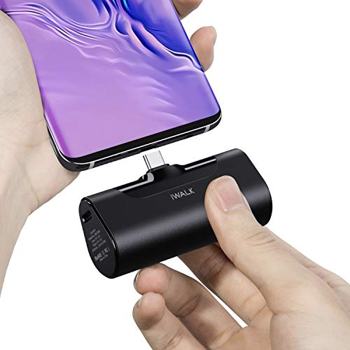 iWALK-4500mAh-Portable-Charger-USB-C-Battery-Pack-Compatible-with-Samsung-Galaxy-S20S10S9S8Note-201098Moto-Z32LG-V35G875Nintendo-SwitchGoogle-Pixel-432XLOnePlus-Black