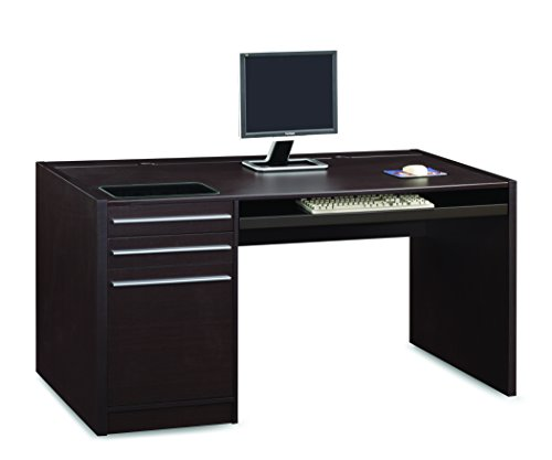 Coaster Home Furnishings Ontario Connect-It Computer Desk Cappuccino
