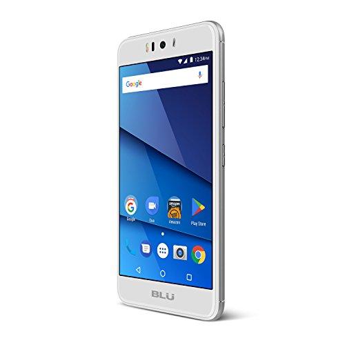 BLU R2 -16Gb+2Gb Factory Unlocked Phone - 5.2Inch Screen - 16GB - Silver