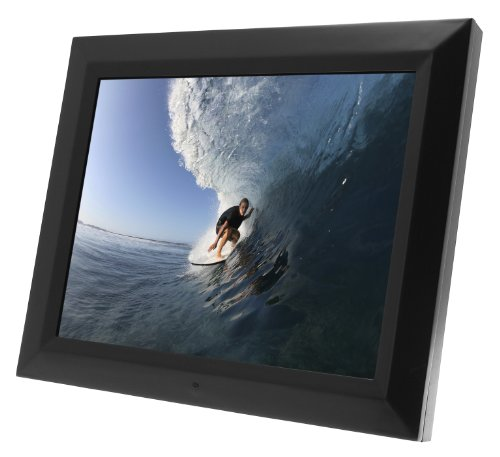 KitVision 20 inch Digital Photo Frame with 1GB of Internal Memory, Built-In Stand and Wall Mount - Black