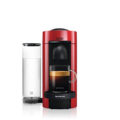 Nespresso VertuoPlus Coffee and Espresso Machine by De'Longhi, Red 1