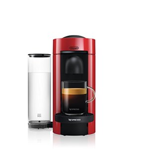 Nespresso VertuoPlus Coffee and Espresso Machine by De'Longhi, Red 11