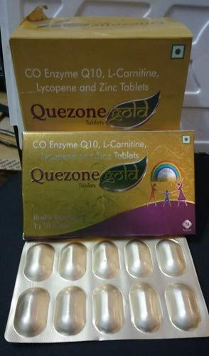 NUKIND Quezone Gold Tablet, 1x10 Tablets 3