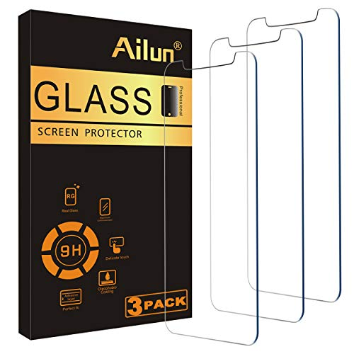 Ailun Screen Protector Compatible for iPhone 11 Pro Max/iPhone Xs Max 3 Pack 6.5 Inch 2019/2018 Release Case Friendly…