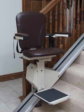 Legacy Elegance Stair Lift by Jameson (Walnut)