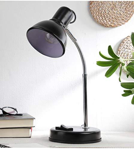 Ntu-233-Black-Metal-Shade-Study-lamp-with-Metal-Base-by-tu-casa-Holder-type-b-22-Bulb-not-Included