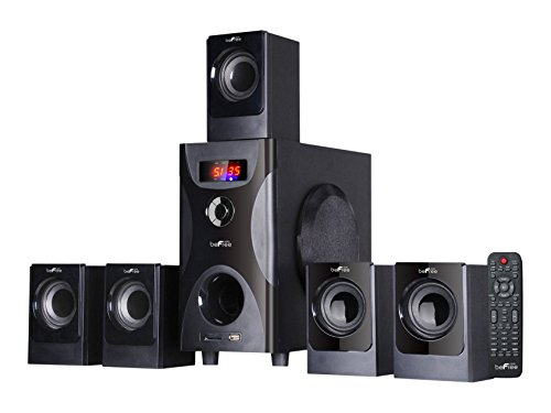 BEFREE SOUND BFS-425 Surround Sound Bluetooth Speaker System – Black