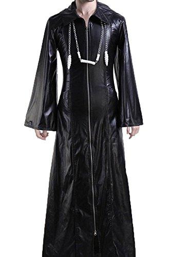 CosplaySky Organization XIII Kingdom Hearts Coat Roxas Costume Medium