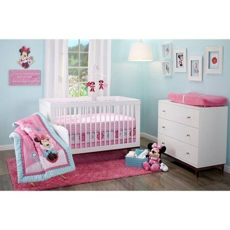 Disney Minnie Mouse Happy Day 3-piece Crib Bedding Set