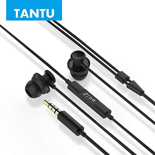Tantu Sleep Earbuds, Noise Cancelling Earbuds Headphones with Comfortable Silicone in-Ear for Sleeping, Sports, Air Travel, Meditation and Relaxation