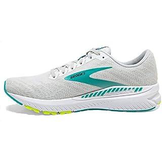 Brooks Womens Ravenna 11 Running Shoe – White/Nightlife/Atlantis – B – 9 Best Road Running Shoe 2020