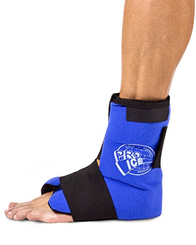 Ankle/Foot Ice Therapy Wrap – Perfect for Sprained Ankles, Plantar Fasciitis, Achilles tendonitis, and Swelling Feet - Ice Packs Included