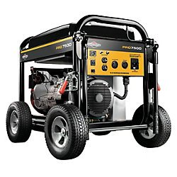 Briggs & Stratton 30555, 7500 Running Watts/9375 Starting Watts, Gas Powered Portable Generator