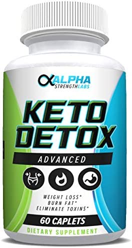 Keto Detox Cleanse Weight Loss - Advanced Colon Cleanser - Flush Excess Waste - Weight Loss Supplement for Women & Men - All-Natural Ingredients - 60 Caplets 1