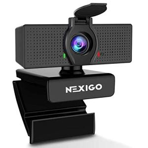 1080P Web Camera, HD Webcam with Microphone & Privacy Cover, 2021 NexiGo N60 USB Computer Camera, 110-degree Wide Angle…
