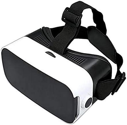 VR-Brille, Virtual Reality-Brille kompatibel mit iPhone & Android [3D Brille] – Erleben Sie Spiele und 360 Grad Filme in 3D mit weicher & komfortabler VR-Brille