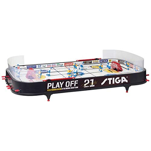 STIGA Play Off 21 Table Top Hockey Game Peter Forsberg Edition
