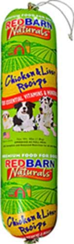 Redbarn Pet Products Chicken and Liver Food Roll 4 lb. roll 1