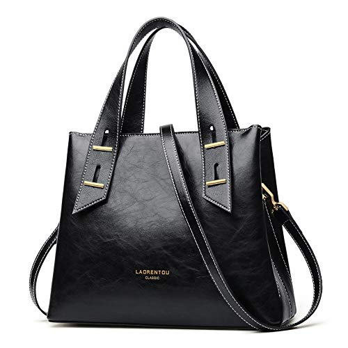 LAORENTOU-Top-Handle-Purses-and-Handbags-for-Women-Cowhide-Leather-Purses-Small-Satchel-Handbags-Mini-Tote-Shoulder-Bags