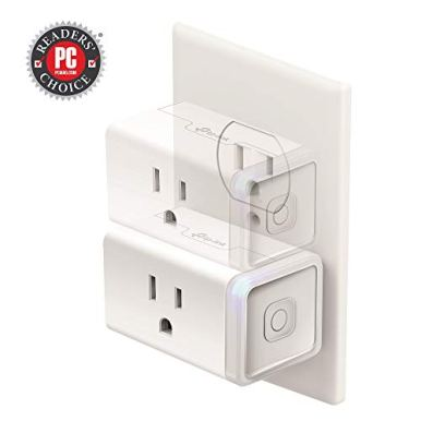 Kasa-Smart-Plug-by-TP-Link-Smart-Home-Wi-Fi-Outlet-works-with-Alexa-Echo-Google-Home-IFTTTNo-Hub-Required-Remote-Control-15-Amp-UL-certified-3-Pack-HS105P3White
