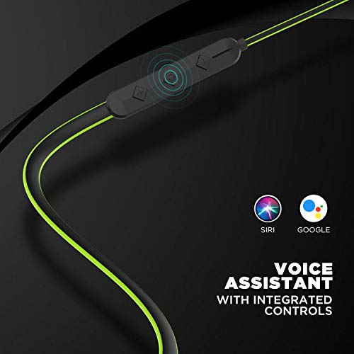 41V1PE0EW1L Boat Rockerz 255 Sports Wireless Headset with Super Extra Bass, IPX5 Water & Sweat Resistance, Qualcomm Chipset and Up to 6H Playback (Neon)