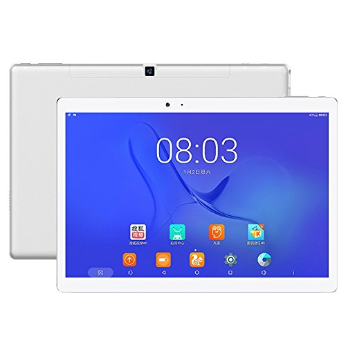 Teclast T10 Tablet 4GB+64GB 10.1 inch Android 7.0 MTK8176 Hexa Core 1.7GHz, Support OTG & GPS & Bluetooth & Dual Band WiFi US Plug
