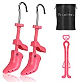 Primevère High Heel Shoe Stretcher, Pair of Premium Professional Two-Way Shoe Stretchers for Women's Shoes, Adjustable Length and Width (Medium, US 4.5-9.5)